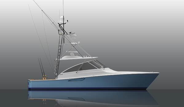 Viking 38 Open Rendering