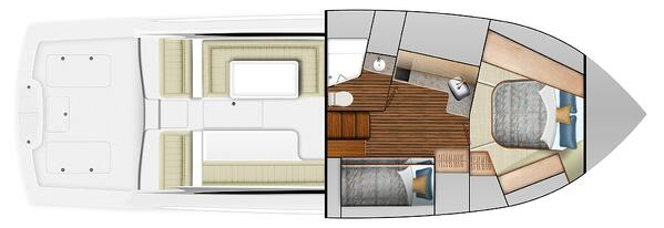 Viking 46 Billfish Layout