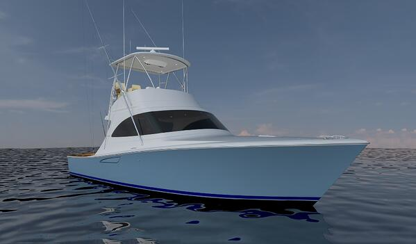 Viking 38 Billfish Rendering